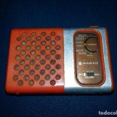Radios antiguas: ANTIGUA RADIO TRANSISTOR MARCA SANYO RP 1250 FUNCIONA. Lote 72070395