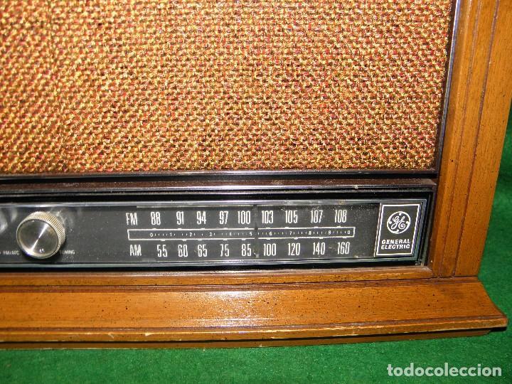 Radios antiguas: RADIO VINTAGE GENERAL ELECTRIC - Foto 4 - 72159211