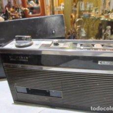 Radios antiguas: CASSETTE GRUNDIG C200. MEDIDAS: 25 X 7 X 15 CMS. ALTURA. INCLUYE FUNDA.. Lote 72207943