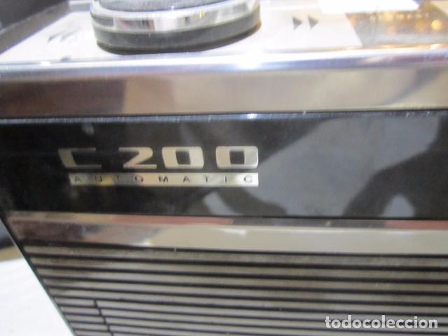 Radios antiguas: Cassette Grundig C200. Medidas: 25 x 7 x 15 cms. altura. incluye funda. - Foto 3 - 72207943