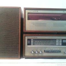 Radios antiguas: ANTIGUO EQUIPO DE MUSICA MARCA SYLVANIA.AÑOS 70. Lote 72425279