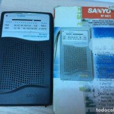 Radios antiguas: RADIO TRANSISTOR SANYO RP-5072 EN SU CAJA ORIGINAL. Lote 72693035