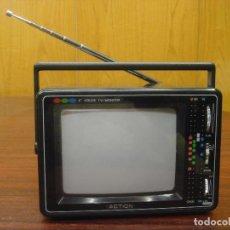"Radios antiguas: ACTION TV/MONITOR COLOR 6"" PORTATIL MOD. ACN 7101. FUNCIONA. C1988. . Lote 72861991"