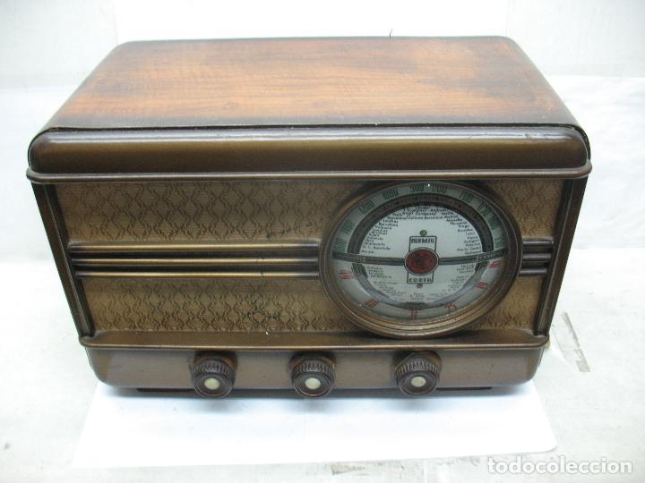 MUNDIAL RADIO REF: M-52 - ANTIGUA RADIO (Radios, Gramófonos, Grabadoras y Otros - Transistores, Pick-ups y Otros)