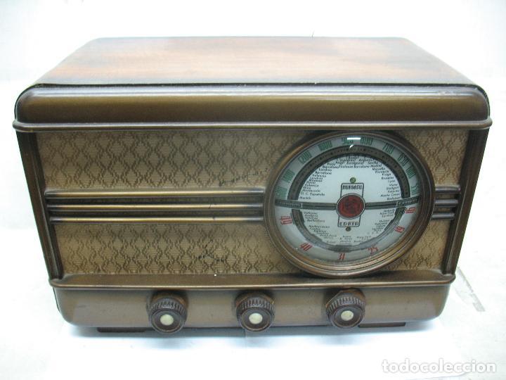 Radios antiguas: MUNDIAL RADIO Ref: M-52 - Antigua radio - Foto 2 - 74000119