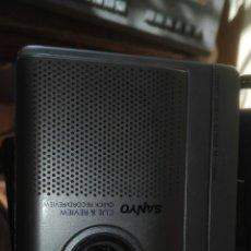 Radios antiguas: WALKMAN SANYO GRABADOR M1060C. Lote 74389611