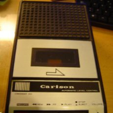 Radios antiguas: CASSETTE CARISON. Lote 39782524
