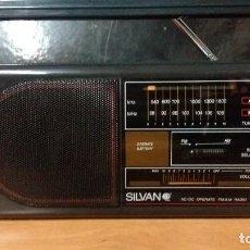 Radios antiguas: RADIO TRANSISTOR SILVAN. Lote 76352035