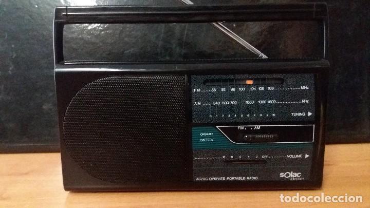 RADIO SOLAC (Radios, Gramófonos, Grabadoras y Otros - Transistores, Pick-ups y Otros)