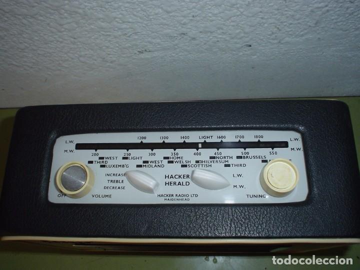Radios antiguas: RADIO INGLESA HACKER MODELO R.P.10 L - Foto 2 - 76908135