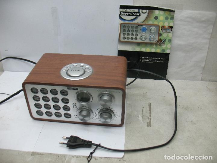 SNOOZE - RADIO SILVER CREST (Radios, Gramófonos, Grabadoras y Otros - Transistores, Pick-ups y Otros)