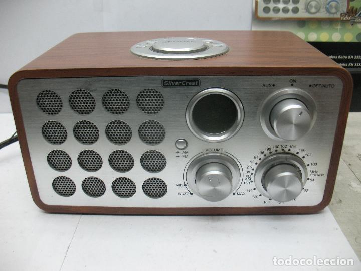 Radios antiguas: SNOOZE - Radio Silver Crest - Foto 2 - 77210417
