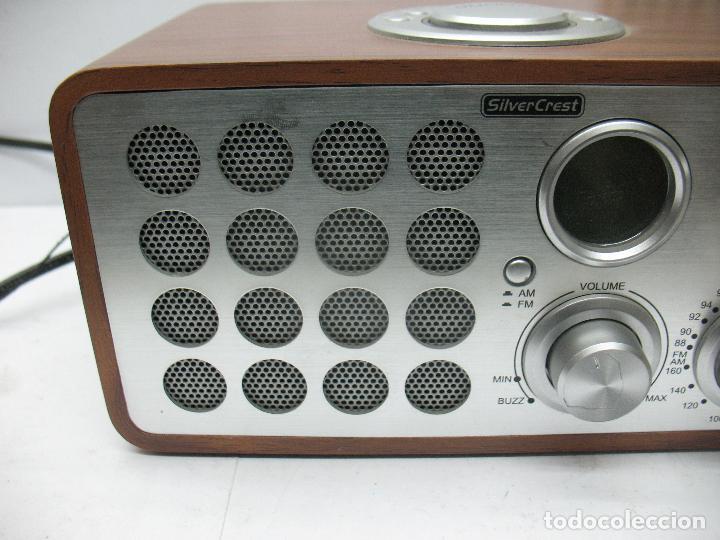 Radios antiguas: SNOOZE - Radio Silver Crest - Foto 3 - 77210417