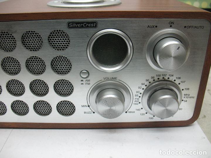 Radios antiguas: SNOOZE - Radio Silver Crest - Foto 4 - 77210417