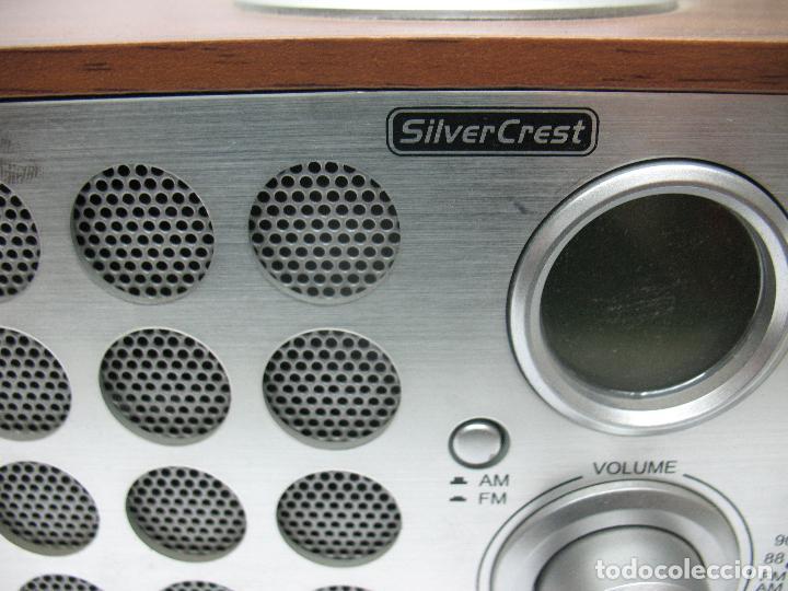 Radios antiguas: SNOOZE - Radio Silver Crest - Foto 5 - 77210417