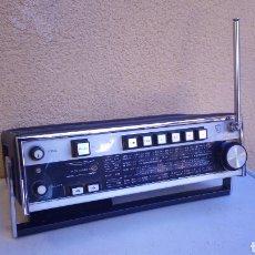 Radios antiguas: TRANSISTOR RADIO CASSETTE GRABADORA PHILIPS RR-70 FUNCIONA SOLO LA RADIO CON LAS PILAS. Lote 77268135