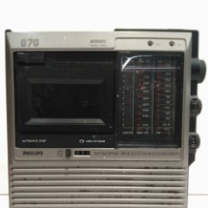 Radios antiguas: RADIO CASSETTE PHILIPS. Lote 77471658