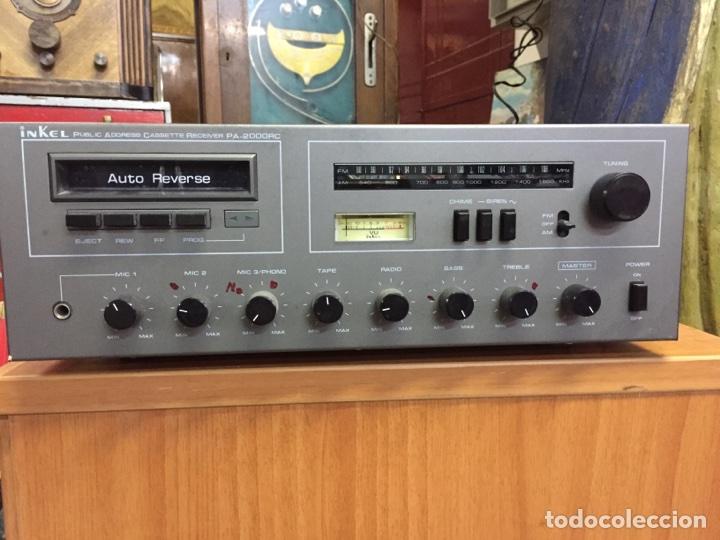 INKEL PA - 2000RC RECEPTOR FM/AM CASSETE (Radios, Gramófonos, Grabadoras y Otros - Transistores, Pick-ups y Otros)