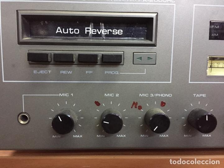 Radios antiguas: Inkel PA - 2000RC RECEPTOR FM/AM CASSETE - Foto 2 - 77814054