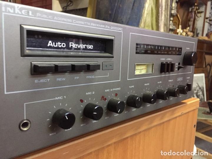 Radios antiguas: Inkel PA - 2000RC RECEPTOR FM/AM CASSETE - Foto 4 - 77814054