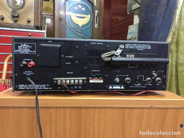 Radios antiguas: Inkel PA - 2000RC RECEPTOR FM/AM CASSETE - Foto 5 - 77814054
