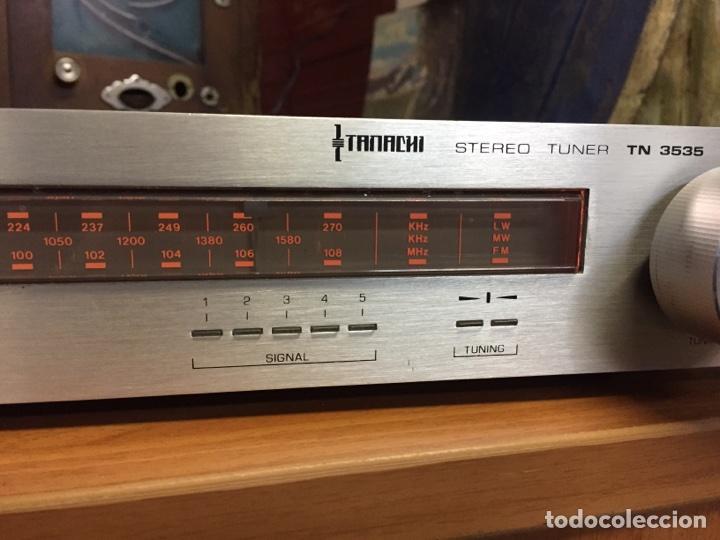 Radios antiguas: Tanachi STEREO TUNER TN3535 - Foto 2 - 77816462