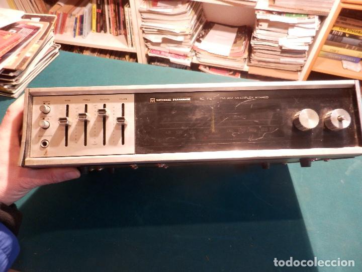 Radios antiguas: NATIONAL PANASONIC MODEL RE - 77208 FM-AM MULTIPLEX STEREO RADIO AMPLIFICADOR - VER FOTOS - Foto 2 - 78516409