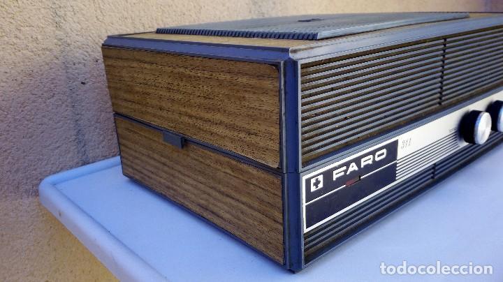 Radios antiguas: TOCADISCOS FARO 311 FUNCIONA PERO SE ESCUCHA UN POCO BAJÓ Y GIRA UNA PIZCA LENTO - Foto 9 - 79172849