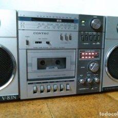 Radios antiguas: RADIO CASSTTE AÑOS 80, CONTEC V83N. Lote 79757905