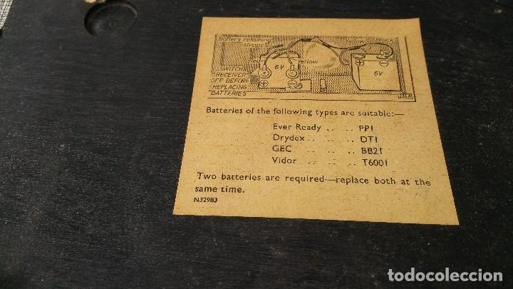 Radios antiguas: Radio portatil HMV - Foto 3 - 79943873