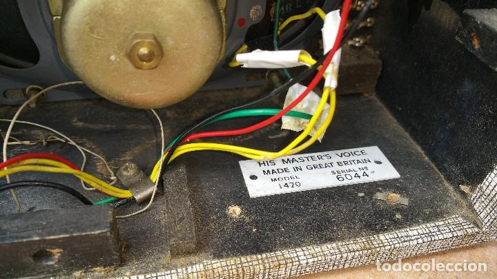 Radios antiguas: Radio portatil HMV - Foto 4 - 79943873