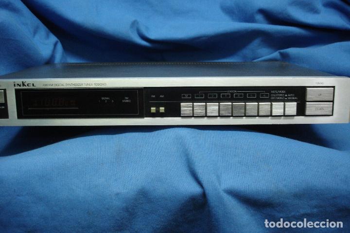 AM/FM DIGITAL SYNTHESIZER TUNER MARCA INKEL TD210 (Radios, Gramófonos, Grabadoras y Otros - Transistores, Pick-ups y Otros)