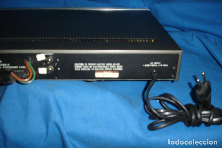 Radios antiguas: AM/FM DIGITAL SYNTHESIZER TUNER MARCA INKEL TD210 - Foto 4 - 80525585