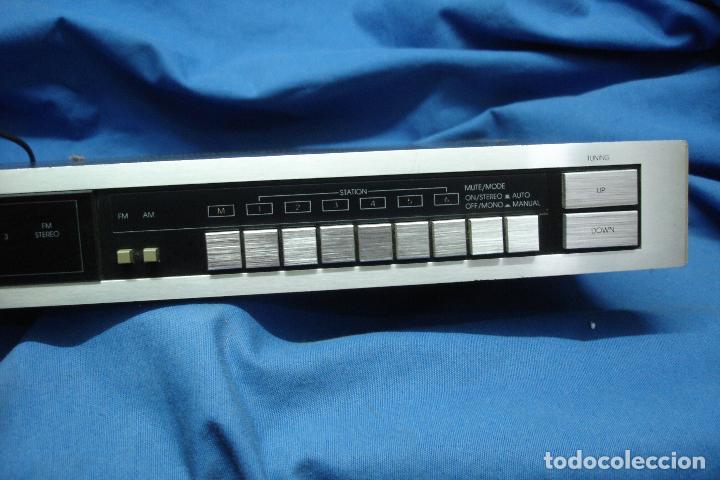 Radios antiguas: AM/FM DIGITAL SYNTHESIZER TUNER MARCA INKEL TD210 - Foto 6 - 80525585