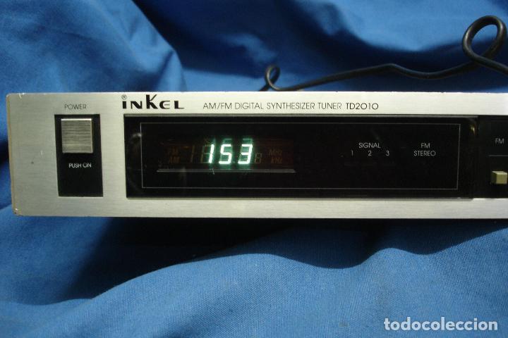 Radios antiguas: AM/FM DIGITAL SYNTHESIZER TUNER MARCA INKEL TD210 - Foto 7 - 80525585