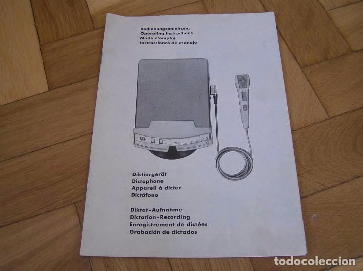 Radios antiguas: DICTAFONO OLYMPIA MADE IN GERMANY EN SU MALETIN - GRABADORA - Foto 17 - 80733418