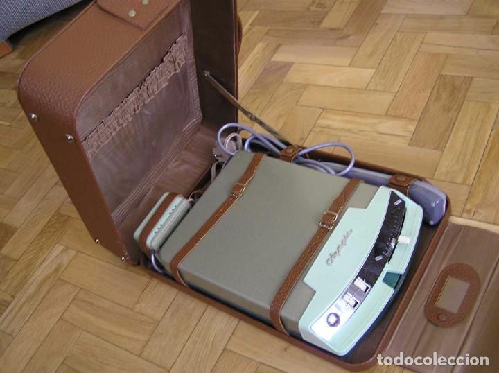 Radios antiguas: DICTAFONO OLYMPIA MADE IN GERMANY EN SU MALETIN - GRABADORA - Foto 28 - 80733418