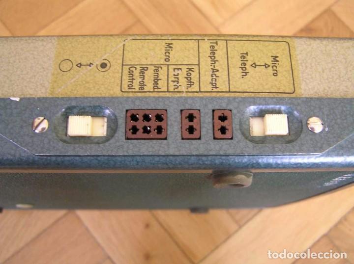 Radios antiguas: DICTAFONO OLYMPIA MADE IN GERMANY EN SU MALETIN - GRABADORA - Foto 42 - 80733418