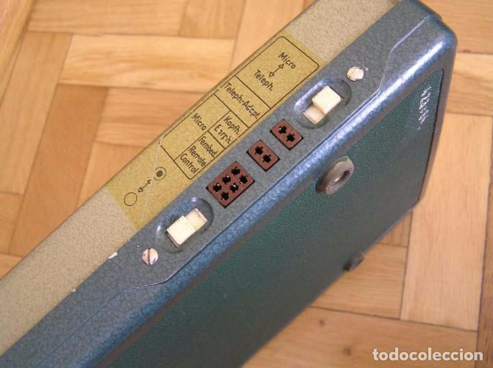 Radios antiguas: DICTAFONO OLYMPIA MADE IN GERMANY EN SU MALETIN - GRABADORA - Foto 44 - 80733418