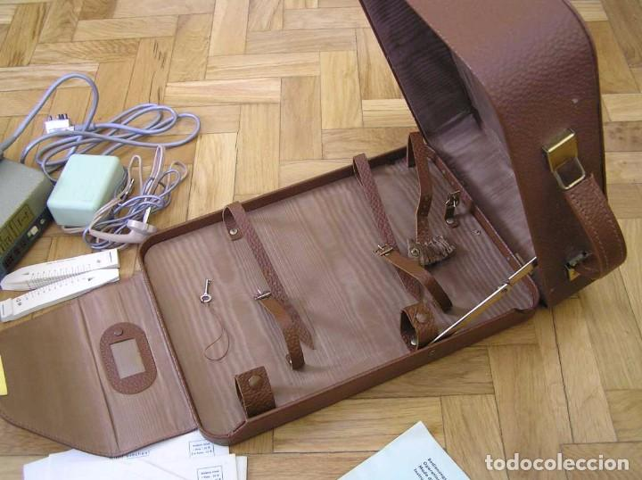 Radios antiguas: DICTAFONO OLYMPIA MADE IN GERMANY EN SU MALETIN - GRABADORA - Foto 63 - 80733418