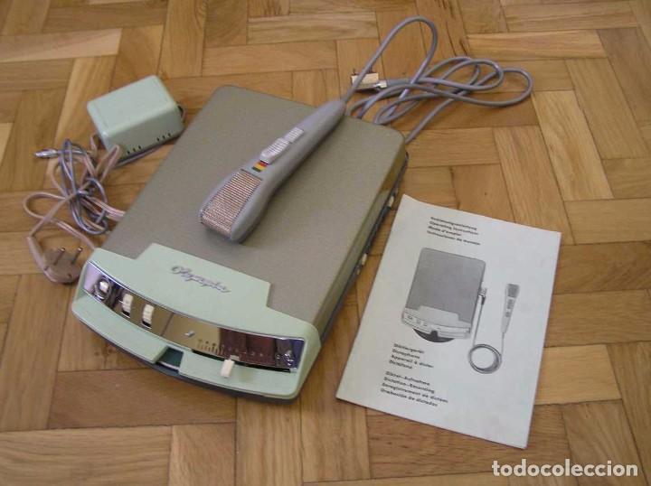 Radios antiguas: DICTAFONO OLYMPIA MADE IN GERMANY EN SU MALETIN - GRABADORA - Foto 67 - 80733418