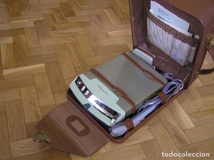 Radios antiguas: DICTAFONO OLYMPIA MADE IN GERMANY EN SU MALETIN - GRABADORA - Foto 77 - 80733418