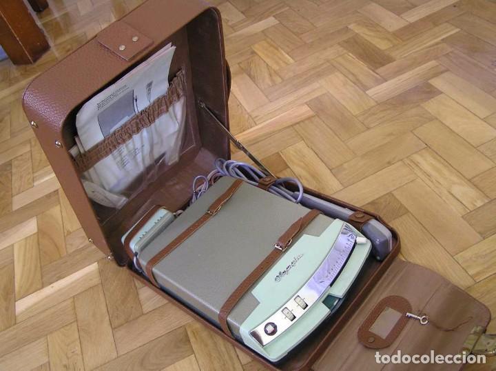 Radios antiguas: DICTAFONO OLYMPIA MADE IN GERMANY EN SU MALETIN - GRABADORA - Foto 88 - 80733418
