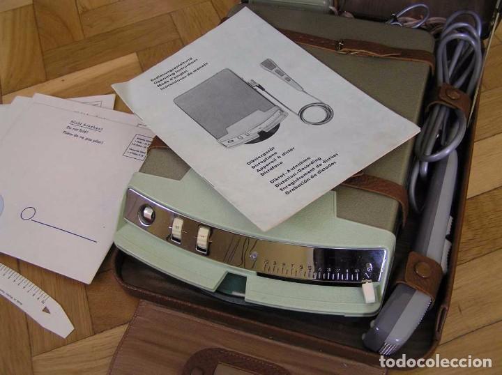 Radios antiguas: DICTAFONO OLYMPIA MADE IN GERMANY EN SU MALETIN - GRABADORA - Foto 94 - 80733418
