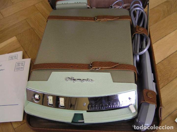 Radios antiguas: DICTAFONO OLYMPIA MADE IN GERMANY EN SU MALETIN - GRABADORA - Foto 99 - 80733418