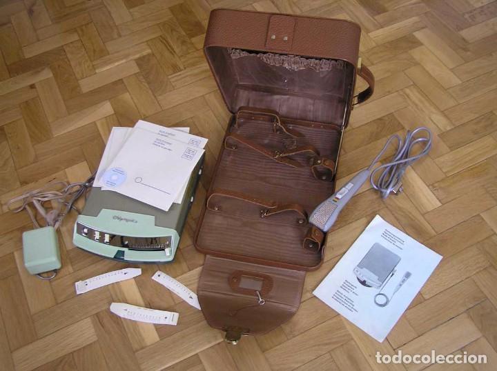 Radios antiguas: DICTAFONO OLYMPIA MADE IN GERMANY EN SU MALETIN - GRABADORA - Foto 100 - 80733418