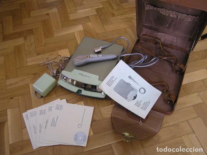 Radios antiguas: DICTAFONO OLYMPIA MADE IN GERMANY EN SU MALETIN - GRABADORA - Foto 108 - 80733418