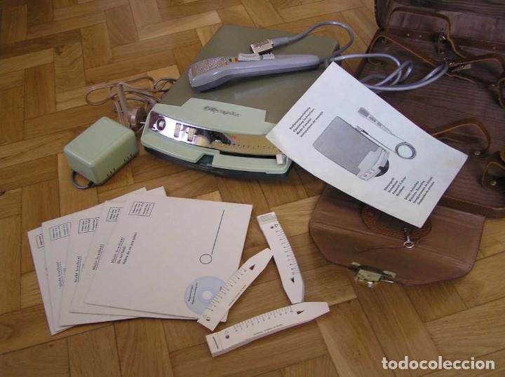 Radios antiguas: DICTAFONO OLYMPIA MADE IN GERMANY EN SU MALETIN - GRABADORA - Foto 109 - 80733418