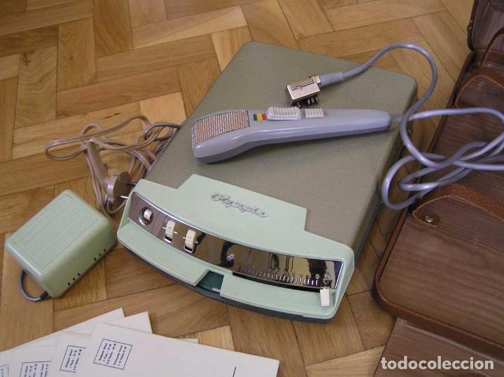 Radios antiguas: DICTAFONO OLYMPIA MADE IN GERMANY EN SU MALETIN - GRABADORA - Foto 110 - 80733418