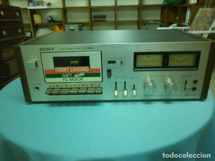 SONNY STEREO CASSETTE DECK TC- 188 SD (Radios, Gramófonos, Grabadoras y Otros - Transistores, Pick-ups y Otros)